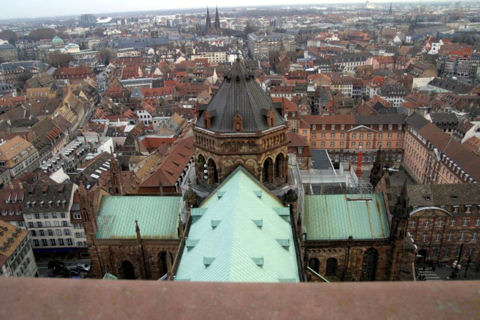 Cathedrale Strasbourg View