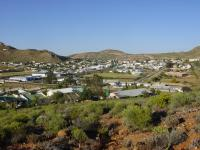The town of Springbok in the Northern Cape of South Africa.